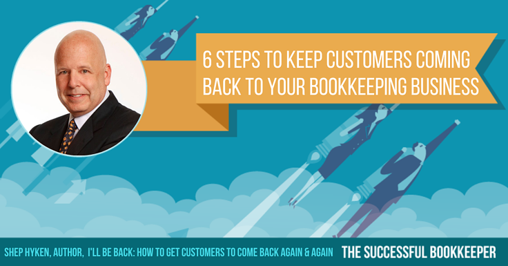Shep Hyken, Author,  I'll Be Back: How to Get Customers to Come Back Again & Again