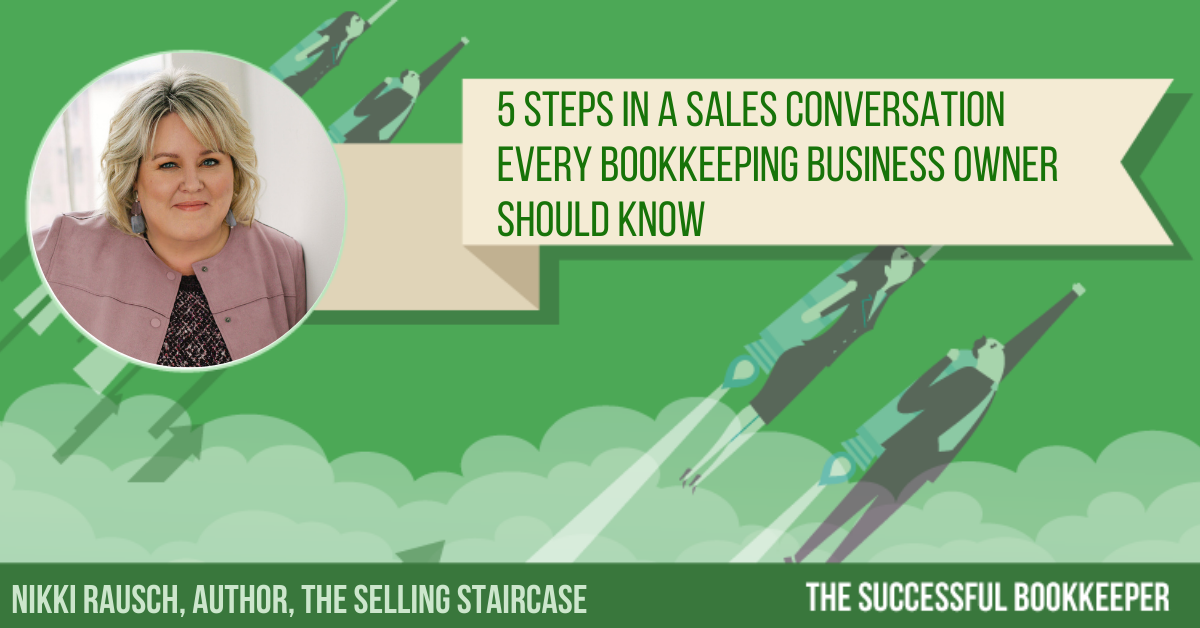 Nikki Rausch, Author, The Selling Staircase